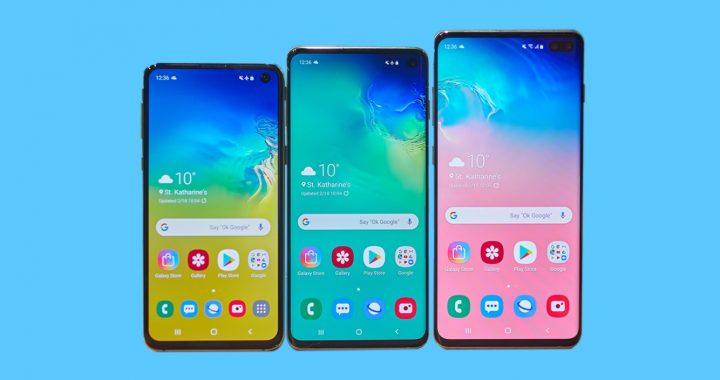 Samsung Galaxy S10 Impression