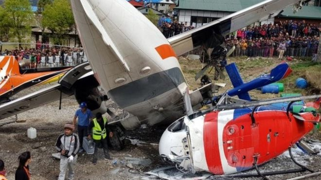 Lukla Plane crash