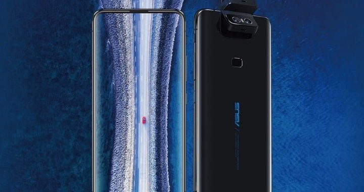 Asus' ZenFone 6 with Flip front Camera