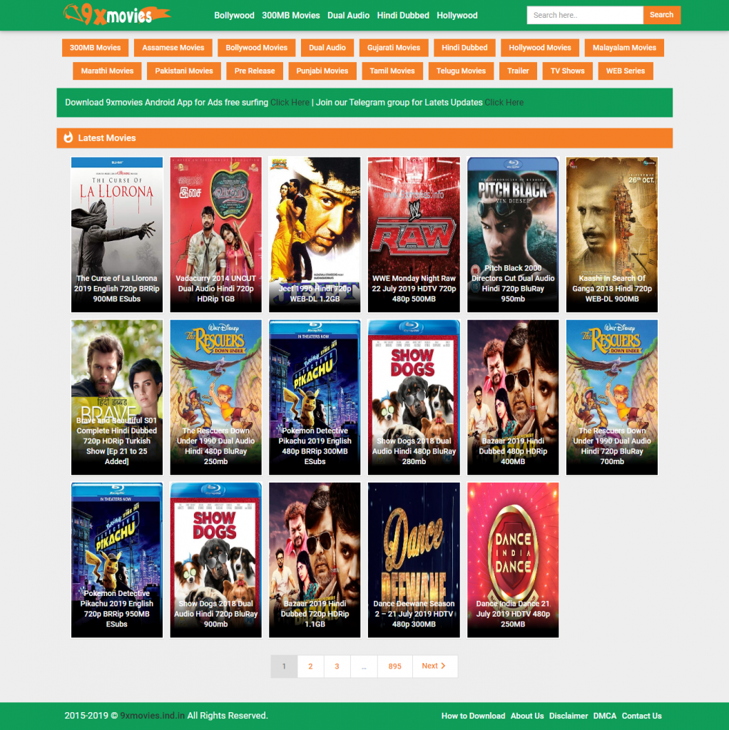 free online movie sites 9xmovies
