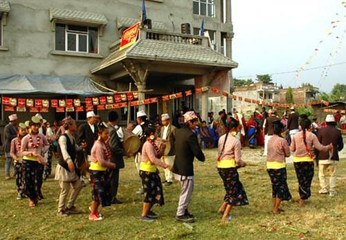 Folk Dance of Nepal chandi naach