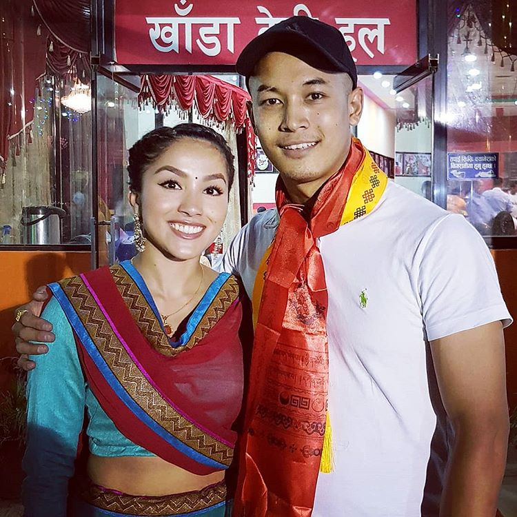 james shrestha Rojina Thapa