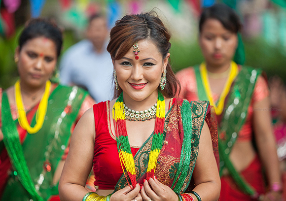 Famous Dancer in Nepal
