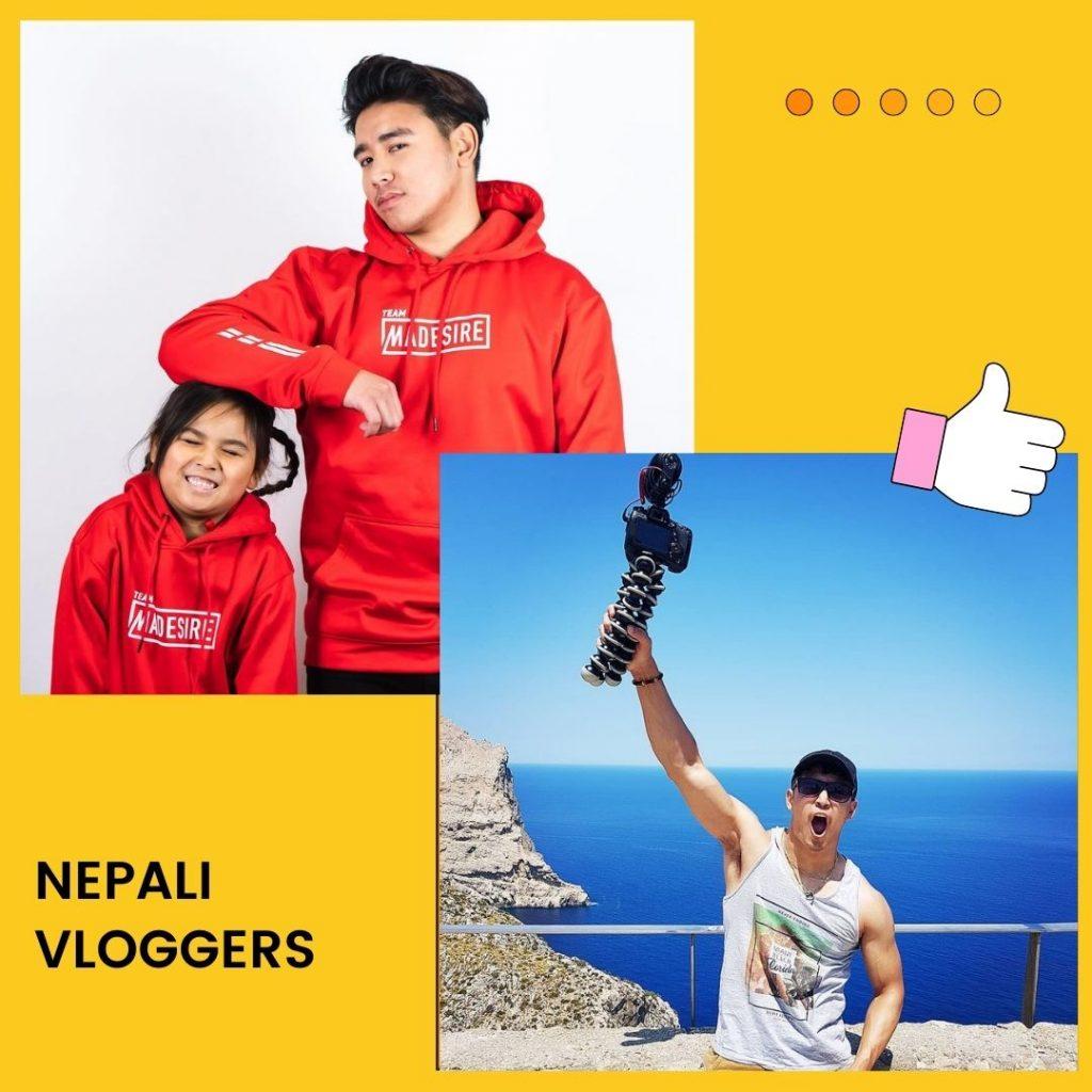 Nepali vloggers
