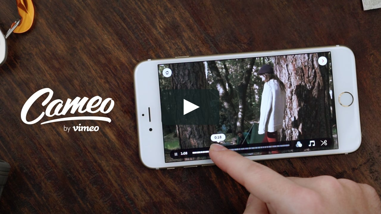 Cameo Best Video Editing Apps For iOS