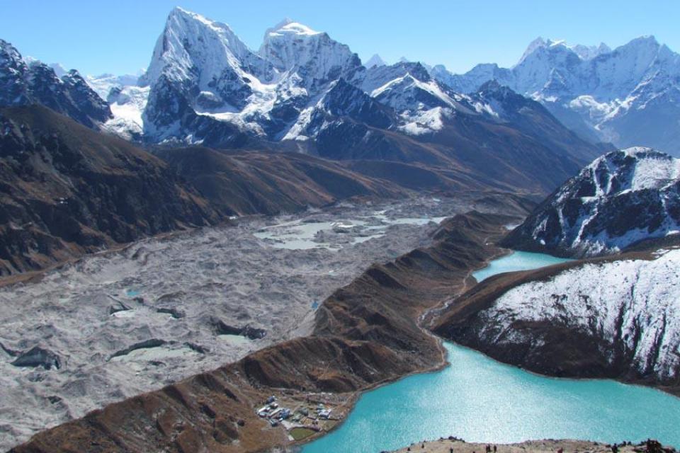 Lakes Of Nepal Gokyo