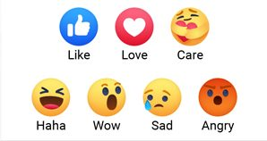 How to Get Care Emoji on Facebook