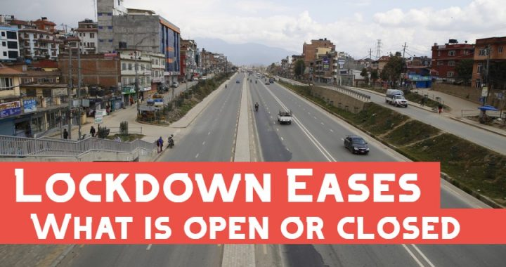Lockdown Eases: What is Open and What is Closed?