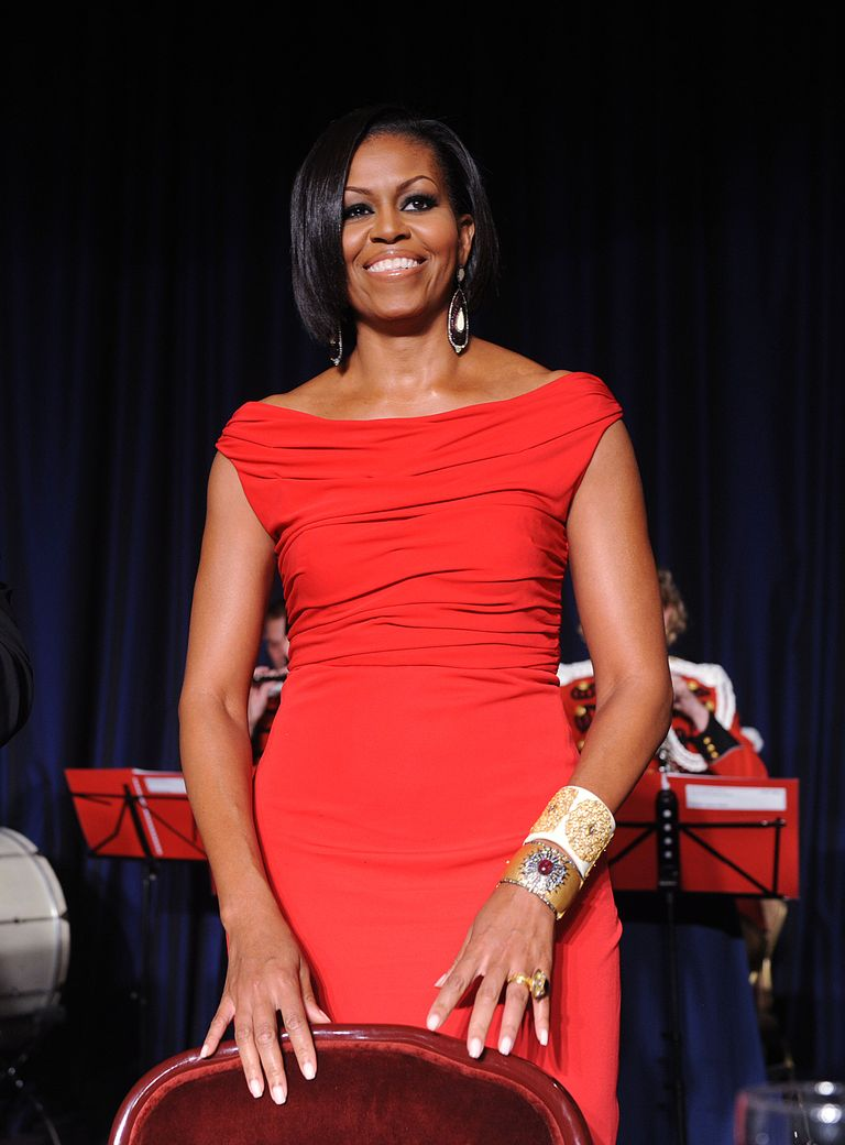 Michelle Obama Prabalk gurung dress