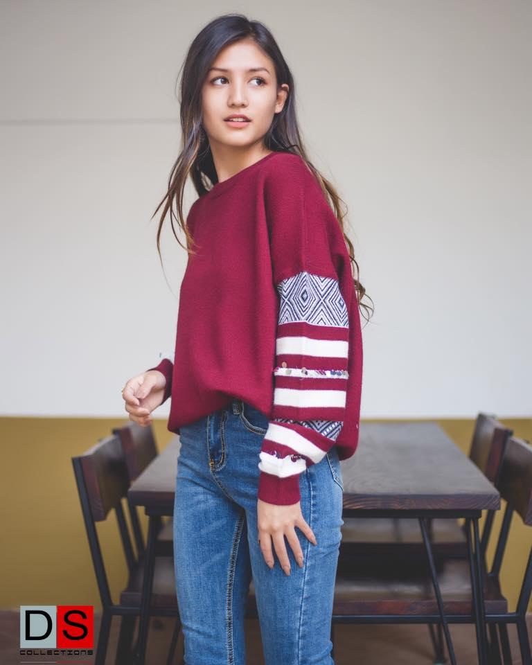 Malika Mahat Modeling