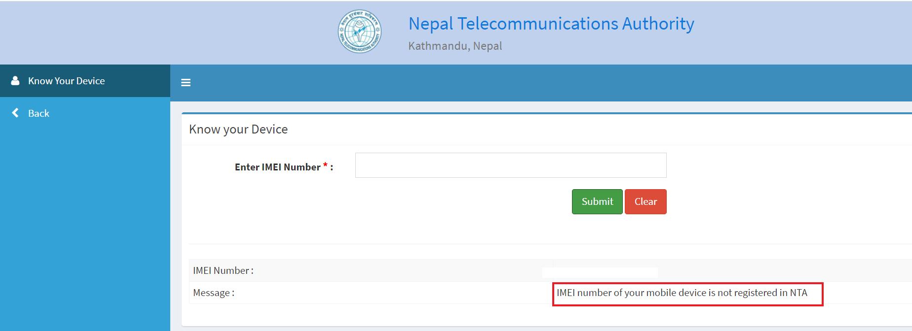 device management registration
