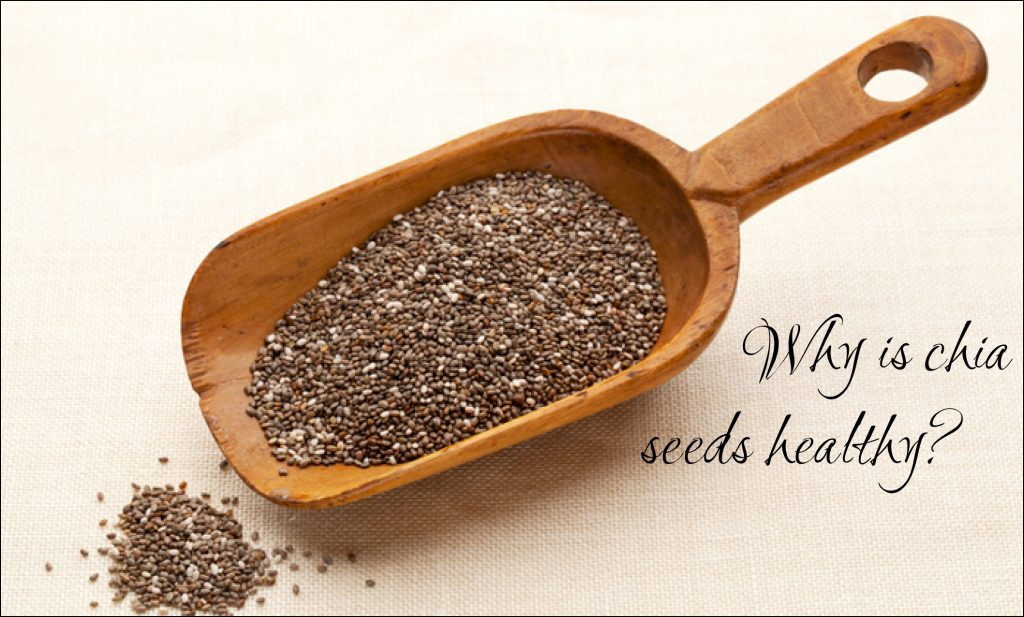 WHY IS CHIA SEEDS HEALTHY?