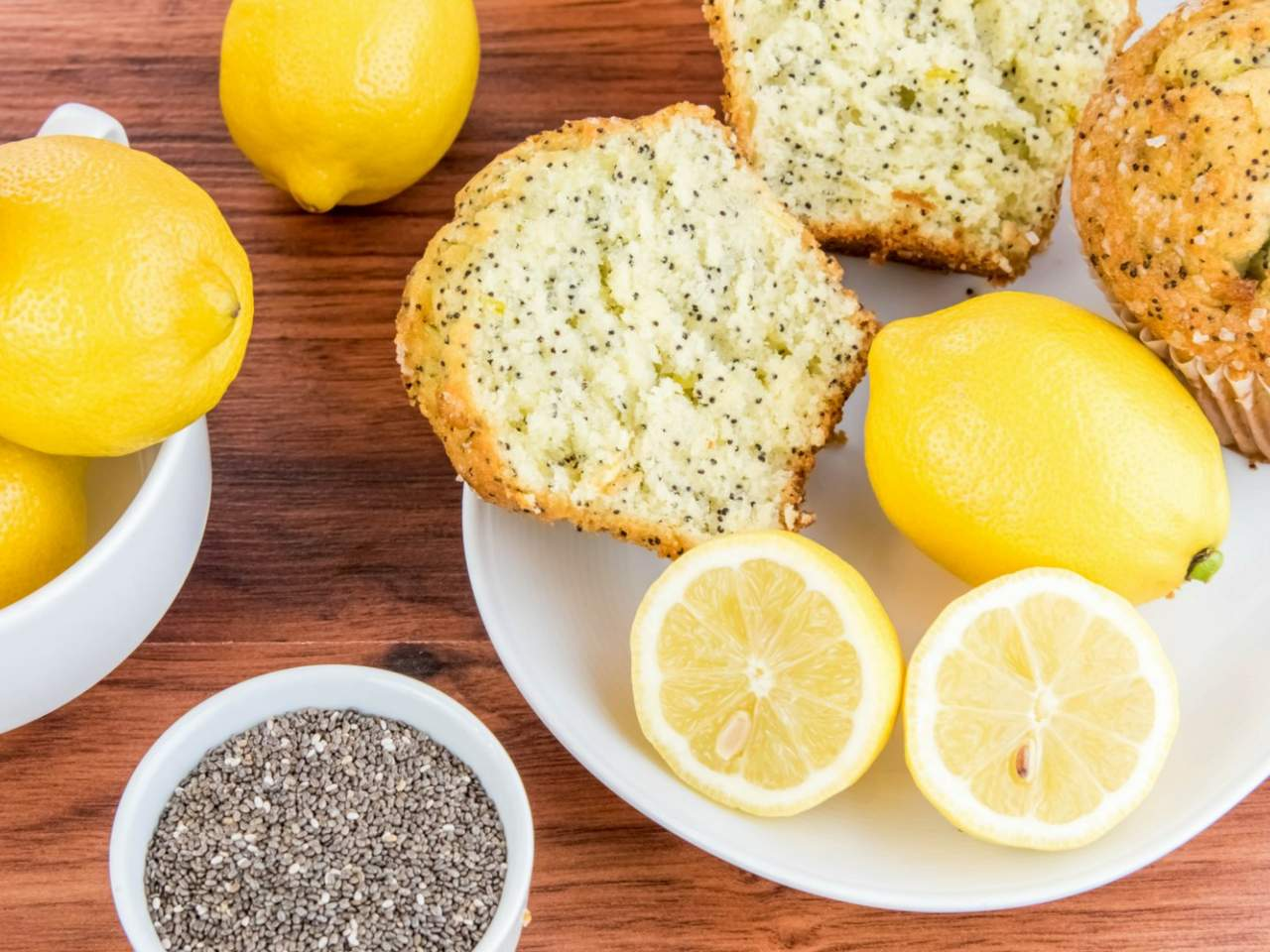 chia seed baked goods