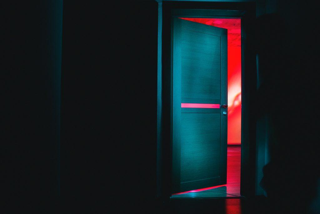 secret behind the door